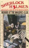 Sherlock Holmes Solo Mysteries 1 - Murder at the Diogenes Club